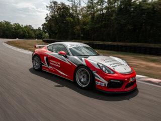 New Porsche GT4